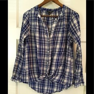 Lucky Brand Tunic Blouse